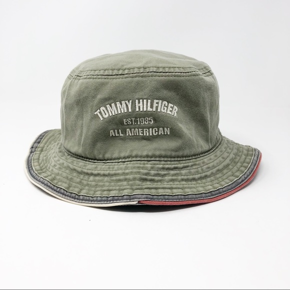 57119dc2b Vintage Tommy Hilfiger Bucket Hat. M_5c9b70904ab6334884de4dc1